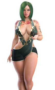 STOCK Norwegian Snake Charmer - Patch Render by ambient-avalancher