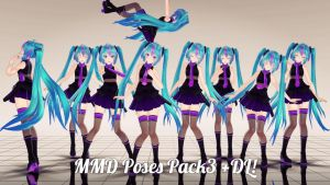 MMD Poses Pack 3 +DL by Alesyakawiii