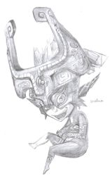 Midna - pencil by strunza