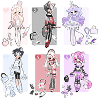 +Medi-Borg Adoptables [ CLOSED] (0/6) + by Hunibi