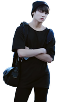 Jungkook (BTS) render by HikariKida