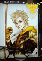 WIP, Pokemon Team Instinct Spark by pauldng