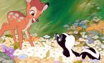Bambi and flower GIF. by crushingmyheart