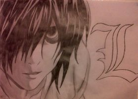 L---Death Note by Broken---Paradise