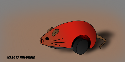 .:The Red Mouse:. by NIN-DROID