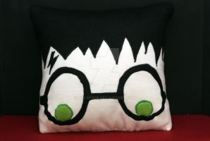 Harry Potter Pillow by holsen08