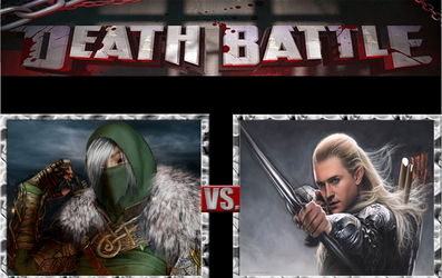 Death Battle  Kerillan  vs Legolas by masterofhorr