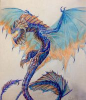 Aghasterling Dragon by Labyrinth-Knights