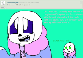 Ask ttoba Sans or Reflection #3 by cjc728