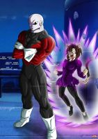 Jiren and Lili by Maniaxoi