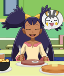 pokeswap 10: Emolga and the best breakfast ever by TheWalrusclown