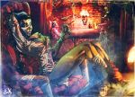Commission Celia The Voodoo Queen by andava