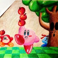 Kirby battle royal by GhostFullmetal