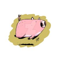 He Just a Pig 2 by tawfi2