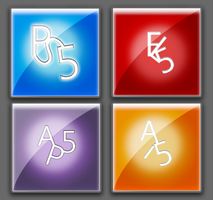 Adobe CS5 Dock Icons by LordReserei