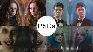 PSDs Pack #01 | 4 PSDs by night-gate by night-gate