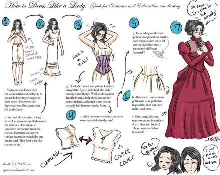 how to dress like a lady. by ryuuenx
