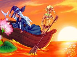 GoA Miniquest1 : Sunset Search by dawnshue