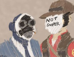 Not Sniper - color by ghostanjo