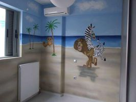 madagascar mural 4 by Theatricalarts