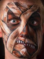Mummy Makeup for Halloween by impactbooks