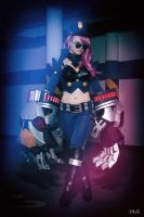 Officer Vi - League of Legends by AHu-PL