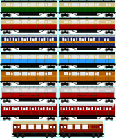 NWR Express Coach Collection by Cj-The-Creator