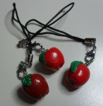 Apple Charms by utenafangirl