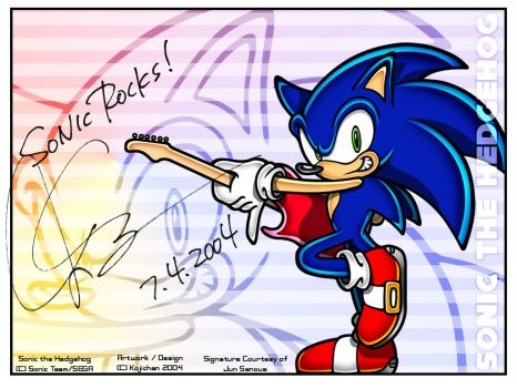 WP - Sonic Rocks -exclamation- by Kojichan