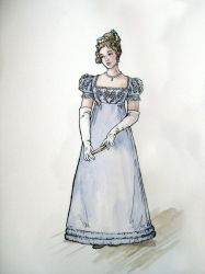 1820 Ball Dress- design by lachwen