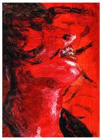 Red Woman by hamsher