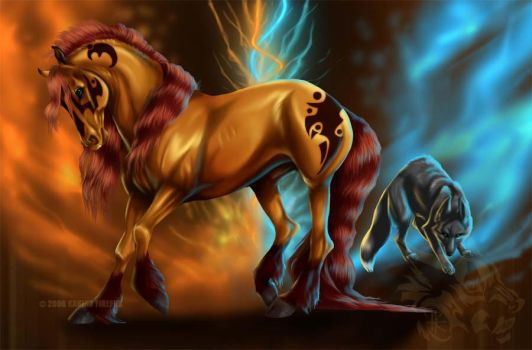 Savage and Fier by Kanina-Firefox