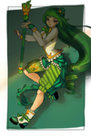 1st Prize : Chlora (OC Astgart) by TheBananafly