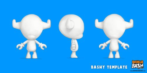 Bashy Art Contest - Toy Template by SpicyHorseOfficial