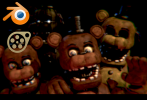 Withered Freddy v6(Upd.) Pack Blender/SFM Release! by Spinofan10