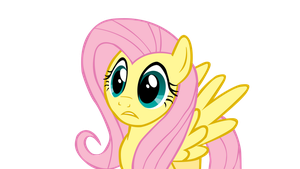 My Little Vector - Fluttershy by Rudahn