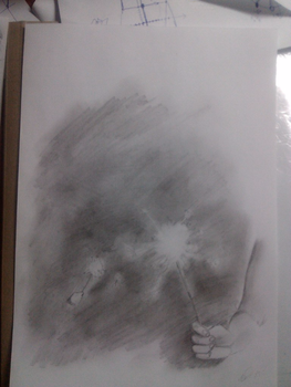 Untitled Drawing by Catmorten