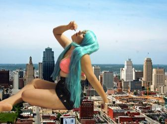 giantess girlfriend6 by cronosexura