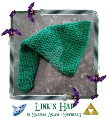 Crochet: Link's hat by simonsaz3