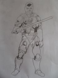 My Drawing Of BIBLEMAN by anthonyDstark