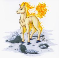Ponyta- Markers by digital-blood