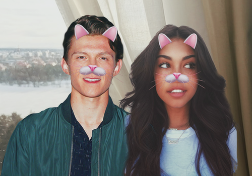 Madison Beer y Tom Holland by XxAantoxX