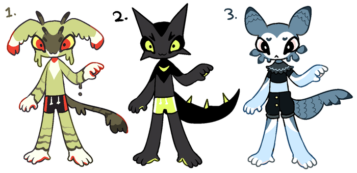snyanthro adopts batch #1 (closed) by Queijac