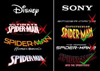 Disney and Sony's treatment of Spiderman by JMK-Prime