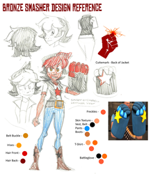 Bronze Smasher Design Reference by LanceOlleyFrie