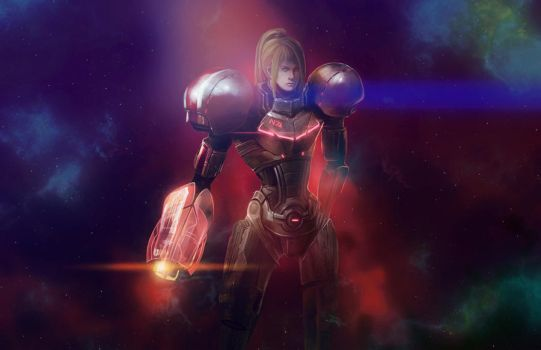 Commander Samus Aran (ME/Metroid Crossover) by aelice