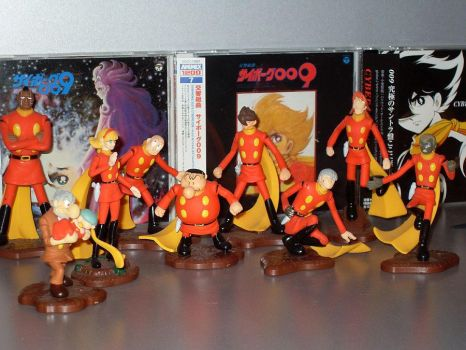 Cyborg 009 Collection by crisinlake
