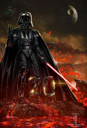 Darth Vader (Commission) by Tonywash