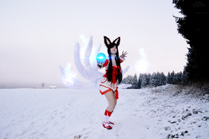 Any last words? | Classic Ahri , League Of Legends by MYSD-Cosplay