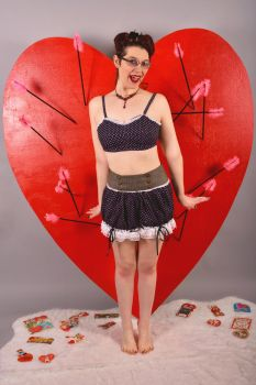 Valentine Pin-Up 2017 by Nerds-and-Corsets